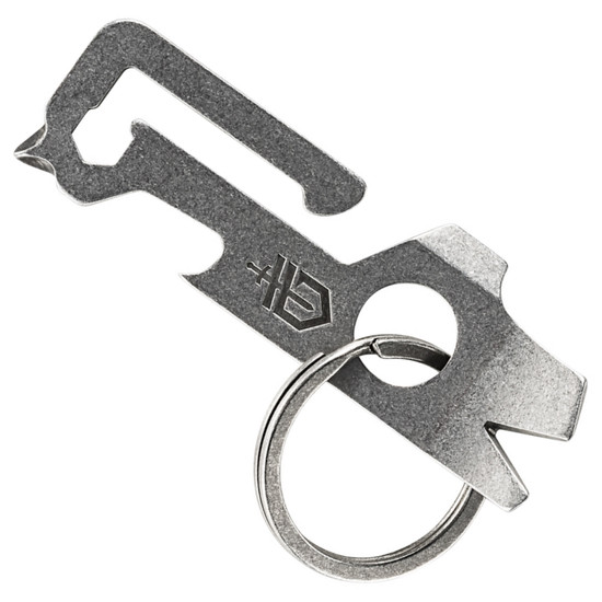 Gerber Mullet Keychain Multi-Tool, Stonewash Finish FRONT VIEW