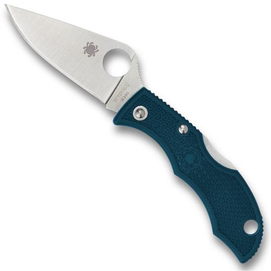 Spyderco Blue Ladybug 3 Folder Knife, K390 Blade