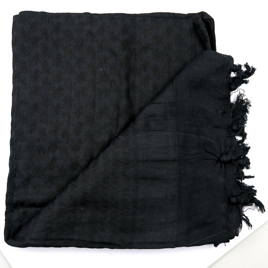 Loki Tactical Shemagh Head Wrap, Black