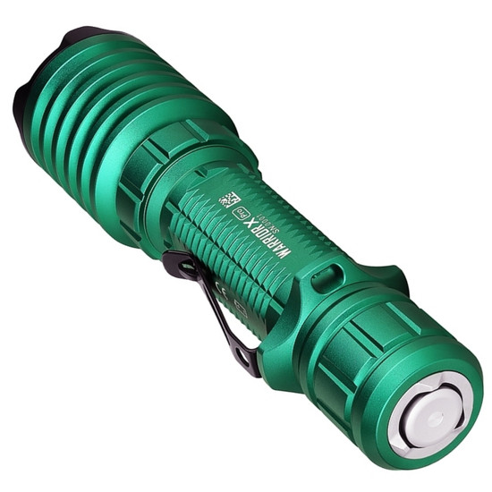 Olight Warrior X Pro Flashlight, Green, UP