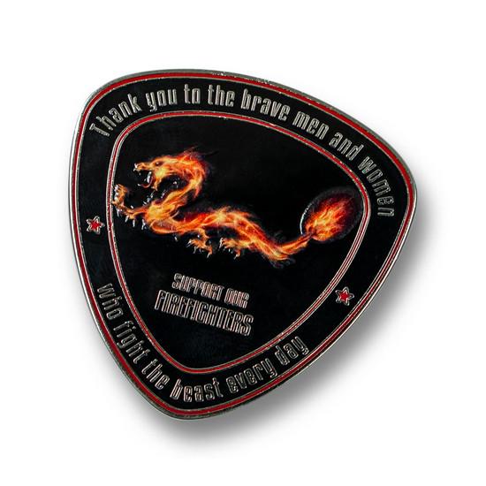 Spyderco Fire Dragon Coin 2021