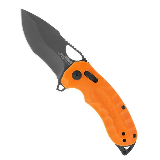 SOG Kiku XR LTE Orange G10 and Carbon Folding Knife