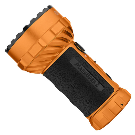 Olight Limited Edition Orange Marauder 2 Rechargeable Floodlight