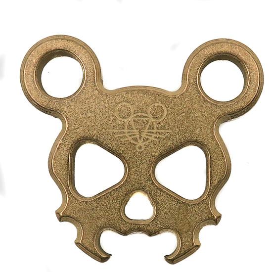 GiantMouse Morbid Mouse Mini Bronze Pocket Tool