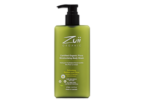 Zuii Organic Flora Moisturizing Body Wash - 275ml