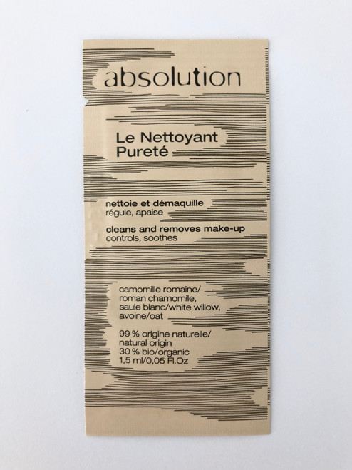 Absolution Le Nettoyant Pureté - The Gel Cleanser Sample Satchel 1.5ml