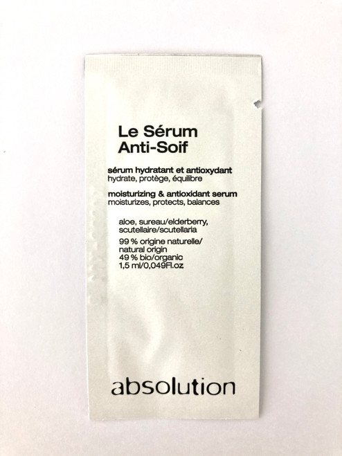 Absolution Le Sérum Anti-Soif - The Hydrating Serum Sample Satchel 1.5ml