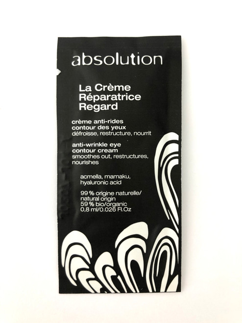Absolution La Crème Réparatrice Regard - The Eye Cream Sample Satchel 0.8ml