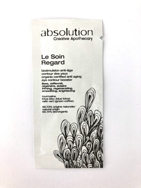 Absolution Le Soin Regard - The Eye Gel Sample Satchel