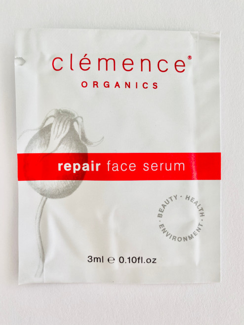 Clémence Organics Repair Face Serum Sample Satchel