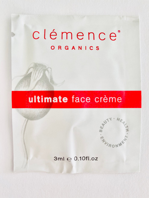 Clémence Organics Ultimate Face Crème Sample Satchel