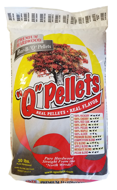 100% Apple BBQ Pellets - 30 lb. Bag