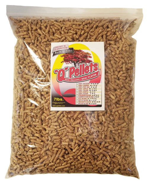Pecan Blend Pellets - 7 lb. Trial Size - FREE Shipping!