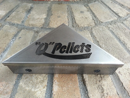 "The ""Q"" Pellets Smoker Wedge"