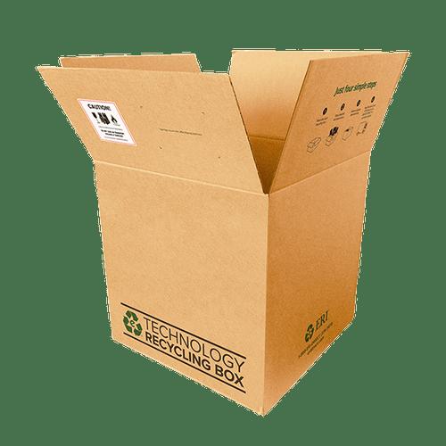 Large Electronics Recycling Box - Serialized