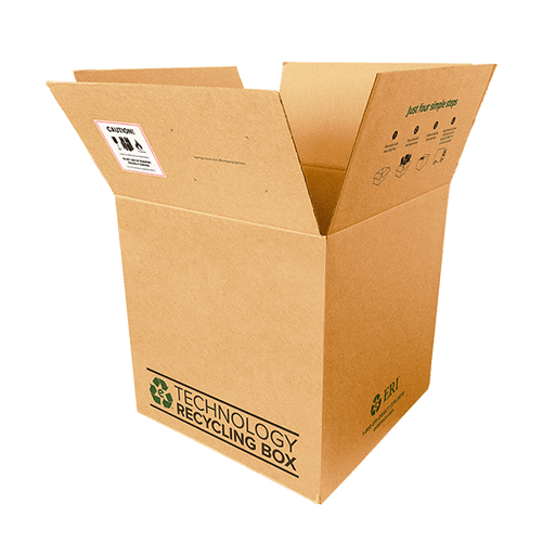 Large Electronics Recycling Box - Serialized