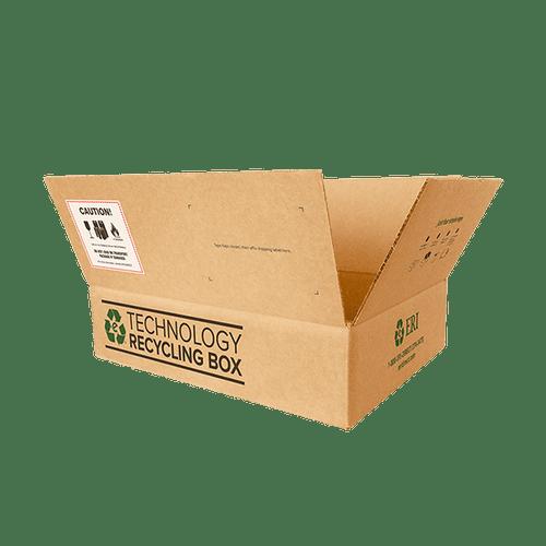 Medium Electronics Recycling Box - Serialized