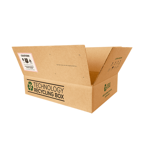 Medium Electronics Recycling Box - Serialized
