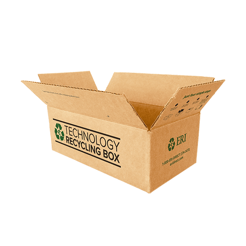 Small Electronics Recycling Box - Serialized