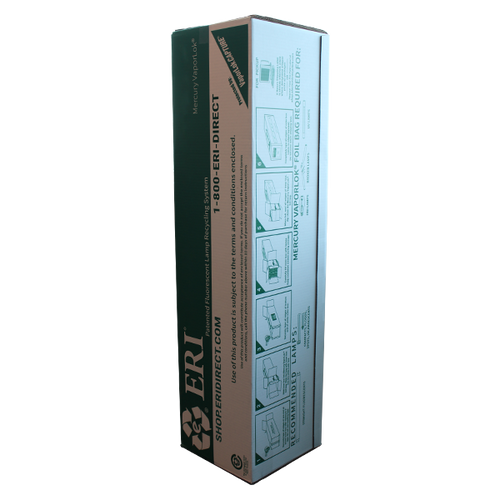 4 Foot Small Mercury VaporLok® Lamp Box