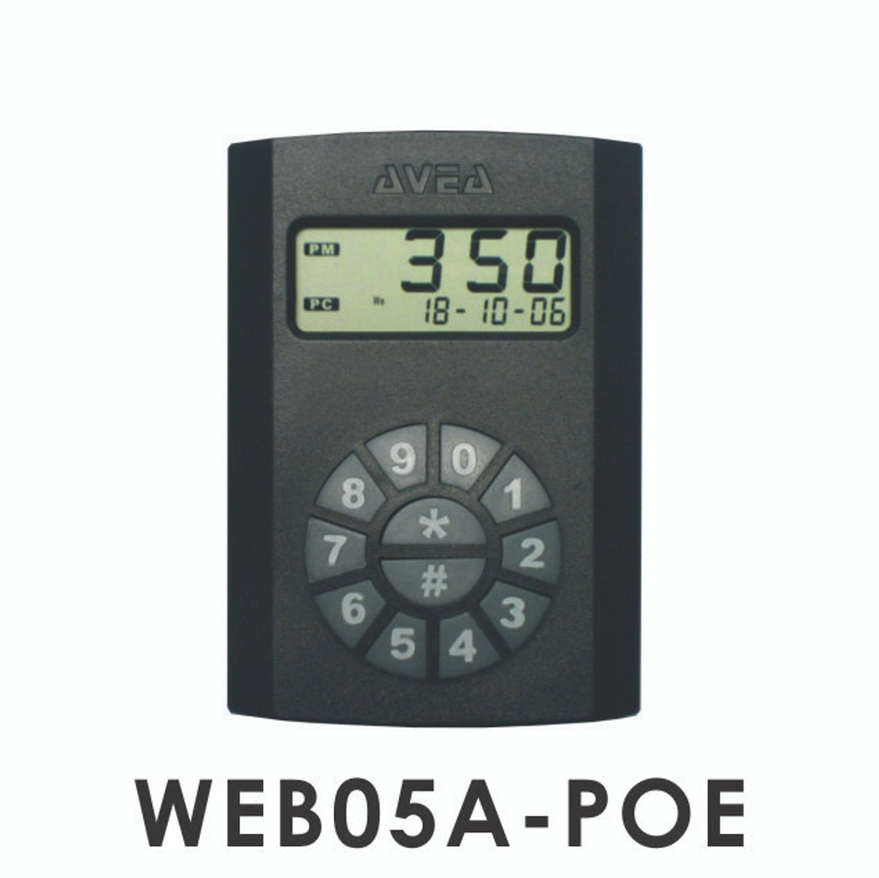 WEB05A iProx 125 kHz cloud based HTTP Ethernet Web Client RFID Reader V2 0  with POE power injector