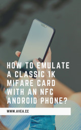 How to emulate a classic 1k Mifare card with an NFC Android phone?
