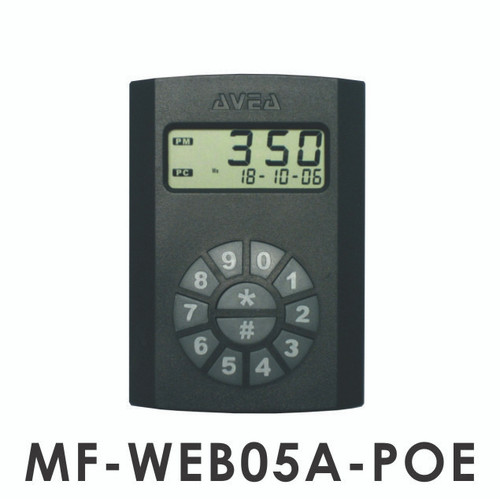 MF-WEB05A mifare RFID cloud reader with POE injector