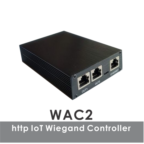 WAC2 HTTP IoT Wiegand Access Controller