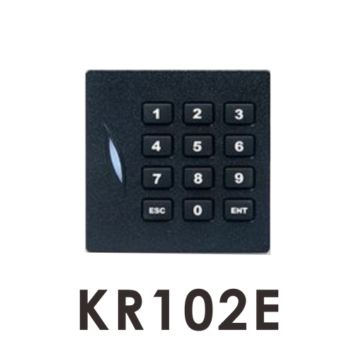 kr102e 125KHz Wiegand 26 reader with keypad