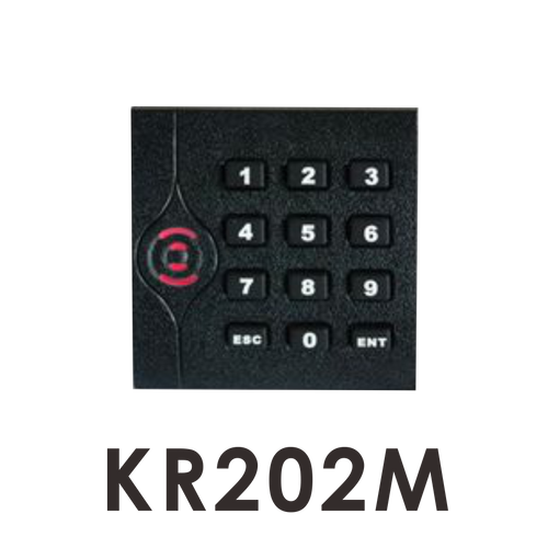 kr202m mifare wiegand 34 RFID reader with keypad