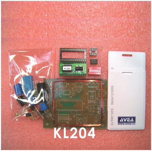 KL204 RFID Proximity Card Access Control Kit for 204 cards