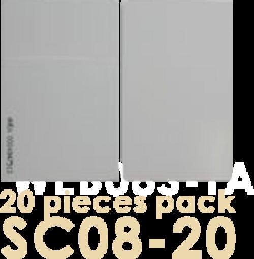 SC08 20 pack 125 kHz proximity card