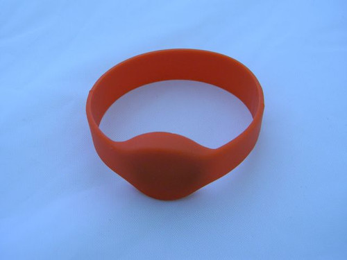 EM 125 kHz RFID Wristband (HS Code : 85235200, MADE IN CHINA)