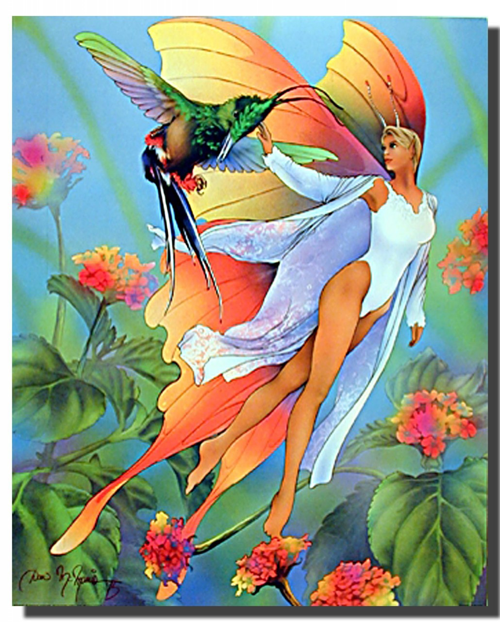 Butterfly Fairy Poster