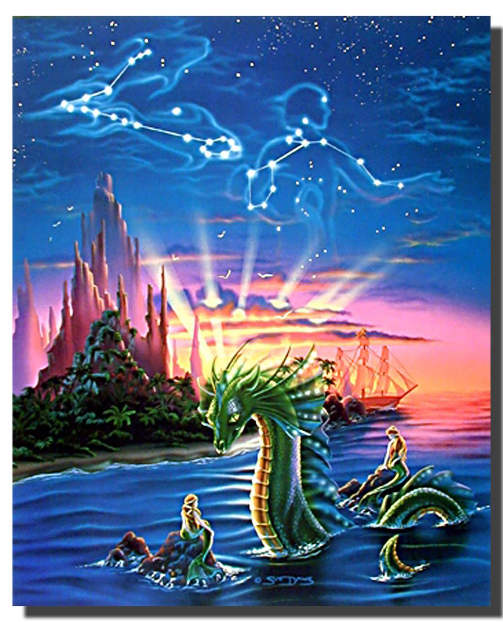 Mermaid Cove Poster Fantasy Posters