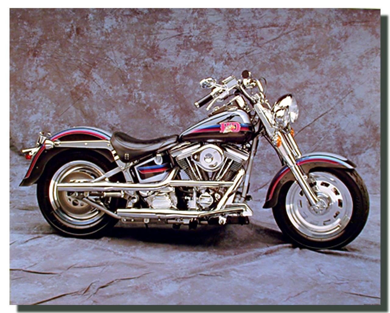 Vintage Harley Davidson Motorcycle Poster Motorcycle Posters