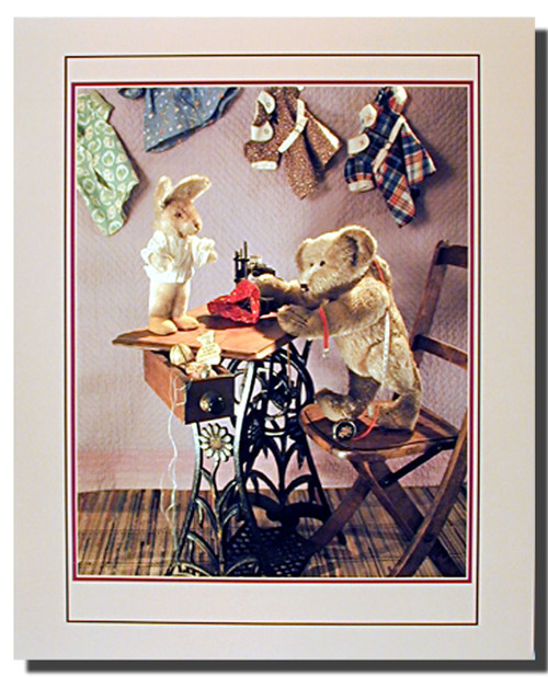 Antique Teddy and Desk Bear Posters