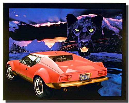 Pantera Car Poster