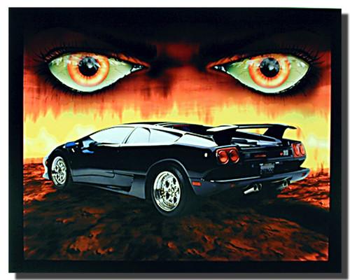 Lamborghini Diablo Car Posters