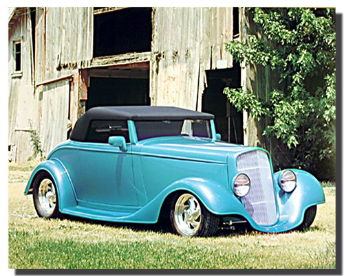 1934 Chevy Cabriolet Kit Car Posters
