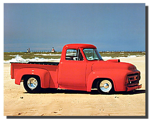 Ford F100 Car Impact Posters