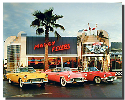 Ford Car Art Print and Posters