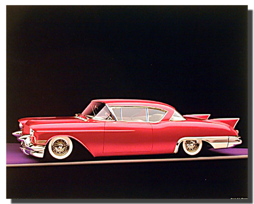 1957 Cadillac Eldorado Car Posters