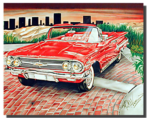 Lowrider Car Posters