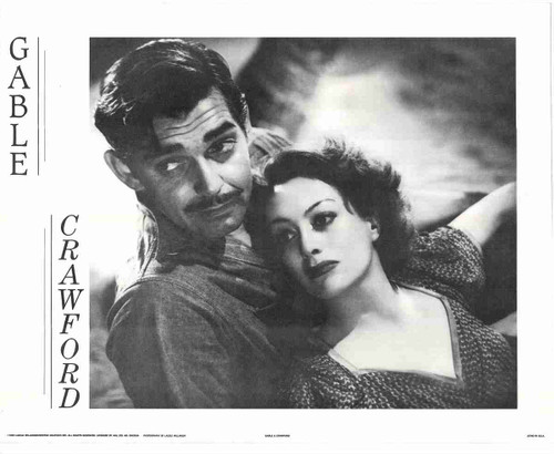 """Gable And Crawford"" King And Queen Of Hollywood Fine Art Print Poster (16x20)"