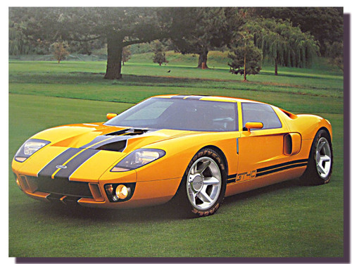 Ford GT Prototype Car Posters