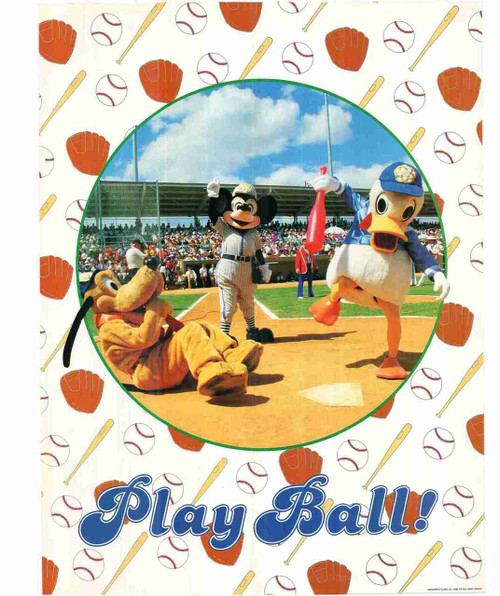 Cartoons Play Ball Kids Room Wall Decor Art Print Poster (24x36)