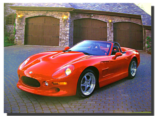 2000 Shelby series One Convertible Car Posters