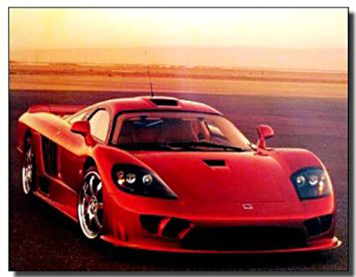 2003 Saleen S7 Car Posters
