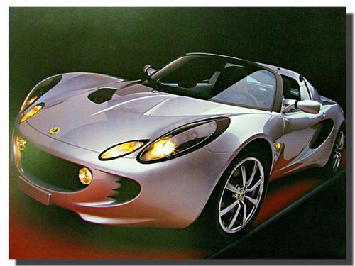 2004 Lotus Elise Car Posters